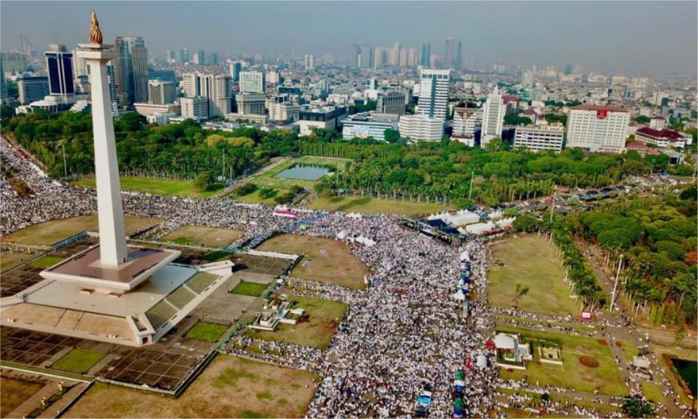 Reuni Aksi 212 Lancar dan Damai, Begini Komentar Ustadz Ismail Yusanto